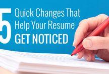 Resumes / by Berwyn Public Library Job Seekers