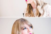 """Taylor Swift / """"People throw rocks at things that shine."""" / by Hattie Steele"""