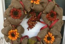Wreaths/decor ideas / by Paula Wilson