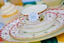 Tea/Tea Party/Tea Table Scapes / by Suzanne Snider