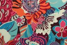 Fabrics / by Rhonda Mahney