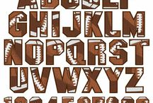Fonts / by Mary Amoson