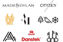 <MY INSPIRATIONS> logos/branding / by Melissa Martin