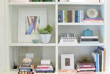 Bookshelf styling / by Green Street Blog