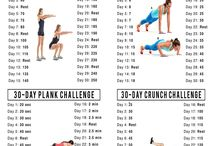 30 day challenges / by Melissa Tapper