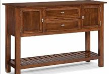 Buffets Credenzas & Sideboards / by Dorthey Farm