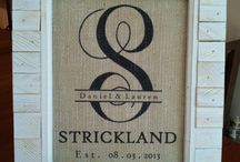 monogramed gifts / by emma strickland