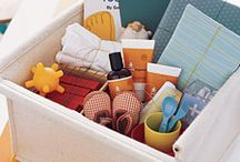 baby gift basket / by Susan Wells