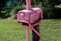 Mailboxes  / by Pam Kinser