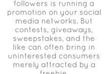 Social Media Words of Wisdom / by The Marketing Distillery