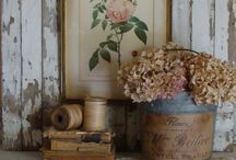 Vignettes ♥ Farmhouse & Primitives / I enjoy both farmhouse & primitive decorating.  This board will include different styles of charming vignettes. / by Sheepscot River Primitives