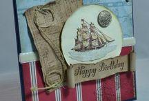 Cards - Sea / Nautical / by Cindy Lynn