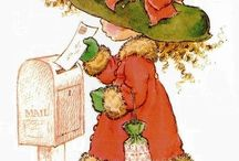 Dessins pour cartes / by Marie-Reine Brochu