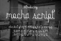 Fonts / by Frisch Inspiriert