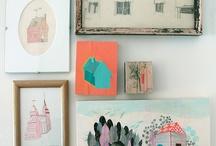 On the wall / by Kari Anne Marstein