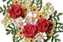 *CROCHET FLOWERS / by Janet Marie