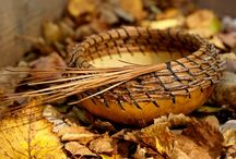 Pine needle baskets ...& Gourds too! / by Lilli Lee