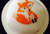 Cross Stitching / My old lady hobbies / by Grace Fallon