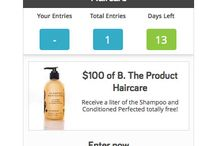 Product Giveaways / Enter To Win Free Haircare From B. The Product / by B. The Product