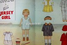 Paper Dolls / by Shirley Childers