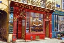 boulangerie shop / by Dagmar Lelie