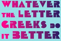 Fraternity and Sorority Inspiration / At Something Greek, we know you are always looking for new quotes to put on screenprinted items or posters for your houses or recruitment. These are some of our favorite Fraternity and Sorority screenprint designs, sisterhood and brotherhood quotes, and other fun Greek-related items. We hope you like our fraternity and sorority quotes and sayings too! / by Something Greek