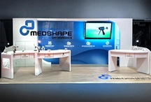Medshape 10 x 20 Custom Trade Show Booth. / by Moose Exhibits