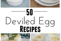 Egg Recipes / Now that we have 21 chickens, I'd better figure out how to use all of these eggs!!! / by Rachel Danner