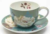 tea cups / by Cathy Taylor
