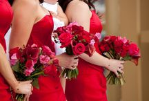 """""""I DO"""" Romantic Red Style / Wedding overflows with love and passion, what can be a better way to express your strong emotions then opting for a red wedding. At Angara.com we have some of the choicest red jewelry for the passionate lovers… / by Angara.com Jewelry"""