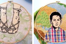 Embroidered Textiles / by CNC Art and Design