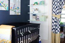 Yellow & Gray Baby Boy Nursery Ideas / by Becky Voboril