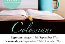 Good Morning Girls - Colossians / by September McCarthy