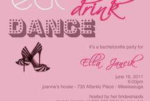 Bachelorette Party / by Jessica McCauley