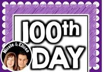 ♥ 100th Day of School ♥ / by Nicole and Eliceo