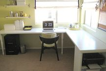 {home.office} / by Bethany Hillier
