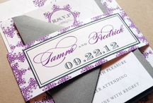 Purple Wedding / by Whimsy B. Designs