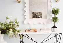 Console Table Decor / by Mary Summers