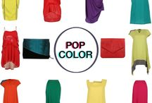 POP Color / Make a statement in this summer's hottest hues / by LAAVAA.com Curated Boutique