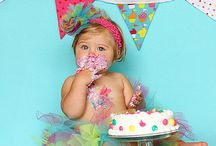 firstBIRTHDAYpartyIDEAS / by Antoinette Tracey