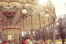 CAROUSELS / by Delores Beachdell