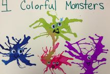 PreK {Monsters} / by Robyn Wood