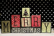 Wooden holiday crafts / by Debby Porter