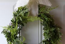 Wreaths / A welcome at the front door. / by Sherry Thecharmofhome