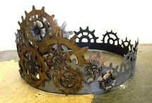 Steampunk ⚙ ⚙ ⚙ / I'm just a girl with a clockwork heart.  / by Gigi Deal