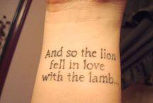 Tattoos / by Elizabeth Dornbush