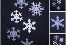 Hama beads - snowflakes / by Tanja Matzen