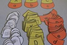 Alphabet Ideas / by Sarah Stepec