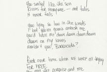 Handwritten Lyrics / by MetroLyrics
