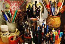 Studio Space Ideas / by Loren Lester